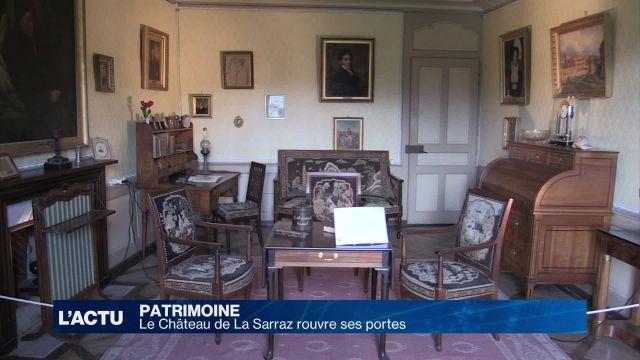 Le château de La Sarraz rouvre ses portes