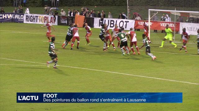 Des pointures européennes du foot s'entraînent à Lausanne