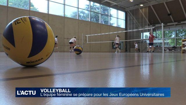 L'équipe de volley féminin UNIL-EPFL part à Zagreb