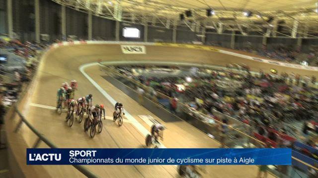 Aigle accueille des championnats du monde de cyclisme