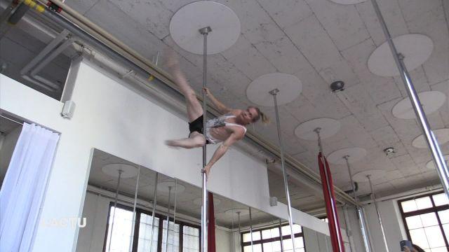 Un Broyard aux championnats du monde de pole dance