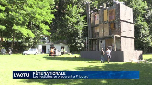 Les festivités du 1er août se préparent à Fribourg