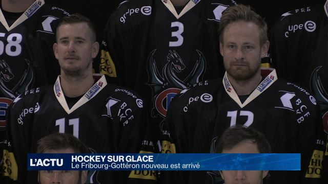 Hockey sur glace : Le Fribourg-Gottéron nouveau est arrivé