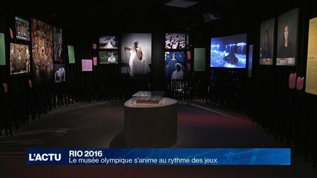 Le musée olympique s'anime au rythme des jeux