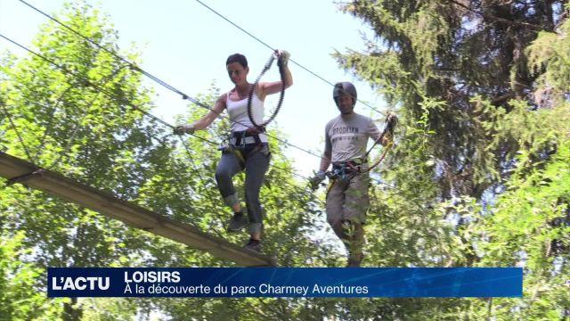 A la découverte du parc Charmey Aventures