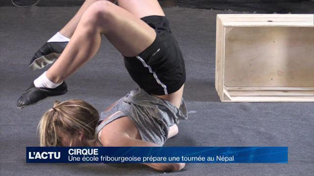 Des Fribourgeois préparent une tournée de cirque au Népal