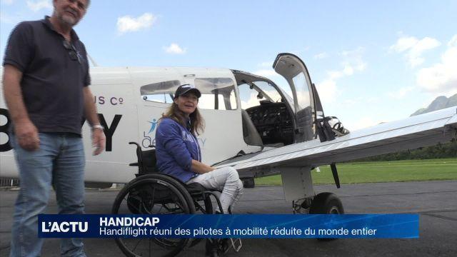 Handiflight, le rendez-vous des pilotes à mobilité réduite