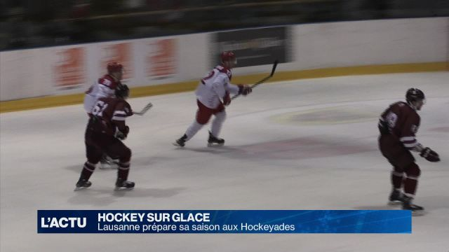 Hockey : Lausanne prépare sa saison aux Hockeyades