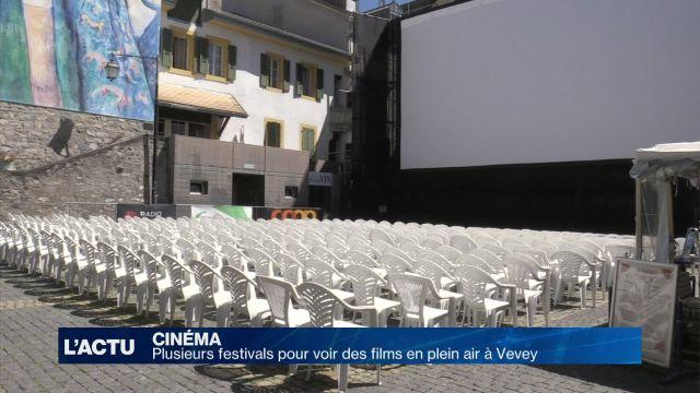 Plusieurs festivals pour voir des films en plein air à Vevey