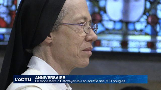 Le monastère d'Estavayer-le-Lac souffle 700 bougies