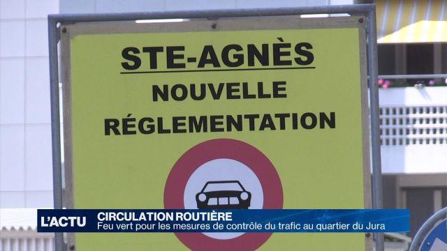 Feu vert pour le contrôle du trafic dans le quartier du Jura