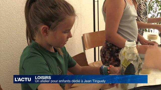 Un atelier pour enfants dédié à Jean Tinguely