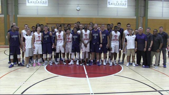 Basket : Lausanne a accueilli une équipe américaine