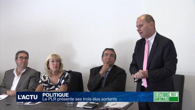 Le PLR vaudois présente ses trois ministres sortants