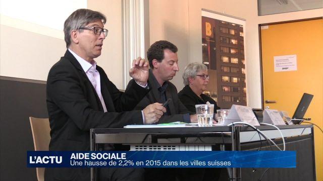 Aide sociale : une hausse de 2,2% en 2015 en Suisse