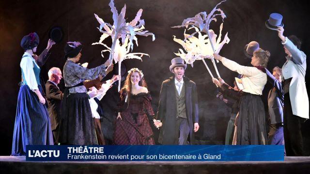 Frankenstein revient à Gland (VD) pour son bicentenaire