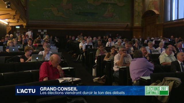 Le Grand Conseil entame une année marquée par les élections