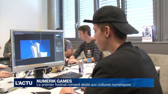 Numerik Games, le festival romand des cultures numériques