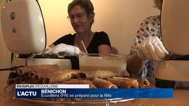 Ecuvillens se prépare pour la fête de la Bénichon