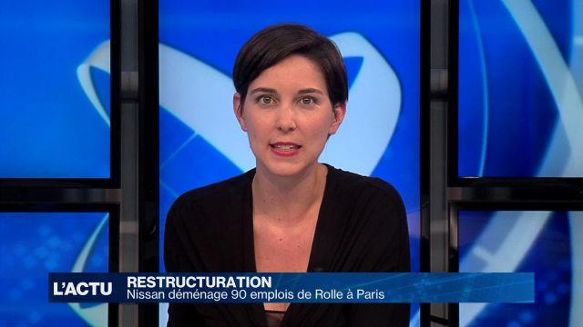 Nissan délocalise nonante postes à Paris