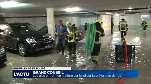 Grand conseil FR: prévention des incendies au menu des élus