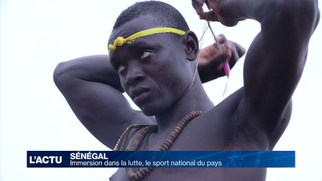 A la découverte du sport national sénégalais: la lutte