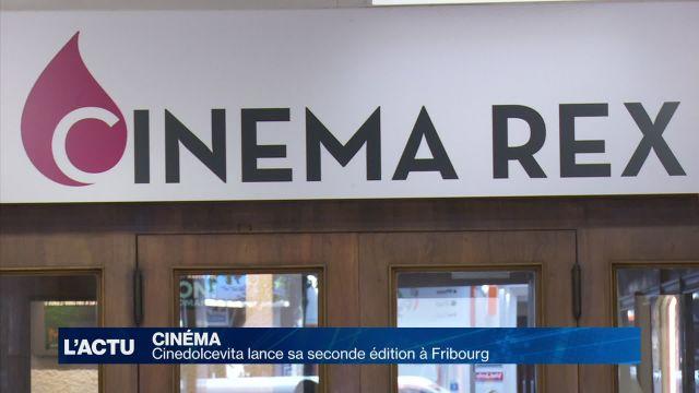Cinedolcevita débute sa seconde édition à Fribourg