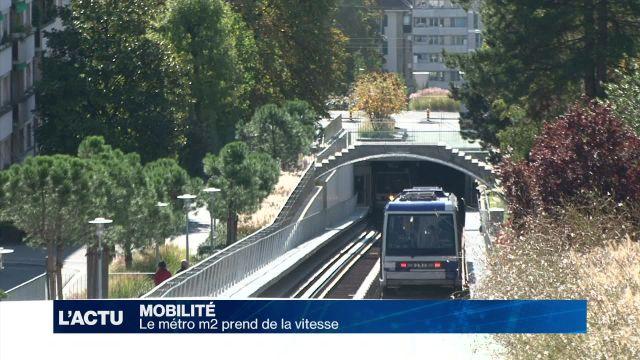 Le métro m2 passe la vitesse supérieure