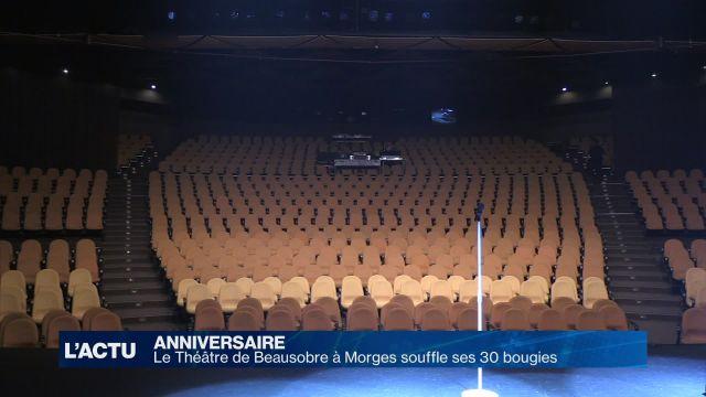 Le Théâtre de Beausobre à Morges fête ses 30 ans!