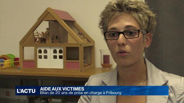 Vingt ans d'aide aux victimes d'infractions à Fribourg