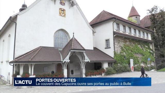 Bulle: le couvent des Capucins s'ouvre au public ce week-end