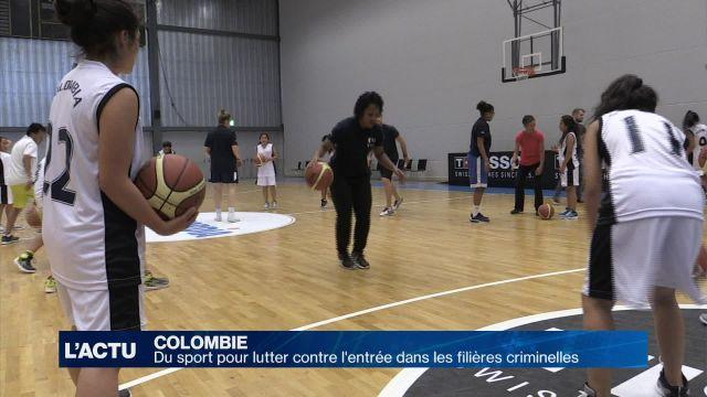 Du sport pour éviter les filières criminelles