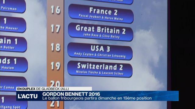 Fribourg Challenge partira, dimanche, en 19ème position