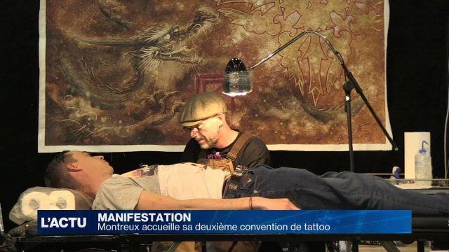 Montreux accueille sa deuxième convention de tatouage
