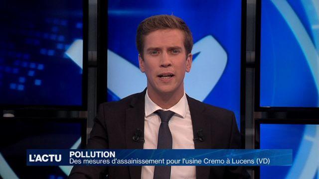 Des mesures d'assainissement pour Cremo à Lucens (VD)