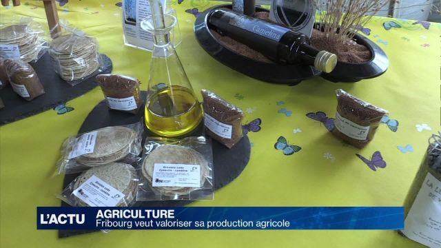 Fribourg veut valoriser sa production agricole