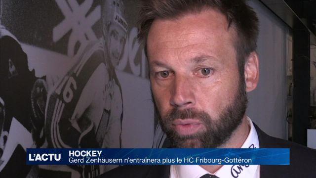 Gerd Zenhäusern n'entraînera plus le HC Fribourg-Gottéron