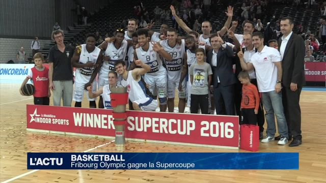 Fribourg Olympic gagne la Supercoupe