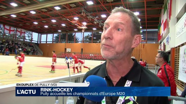 Pully accueille les championnats d'Europe M20 de Rink-hockey
