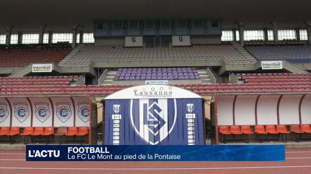 Football : Le FC Le Mont au pied de la Pontaise