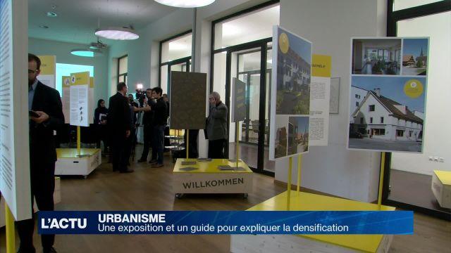 Une exposition et un guide pour expliquer la densification