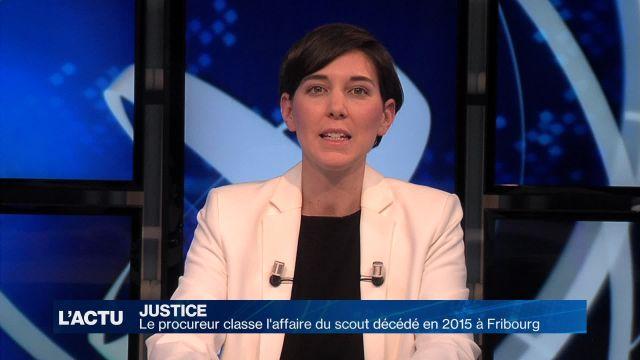 L'affaire du scout décédé en 2015 à Fribourg est classée