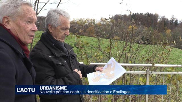 La lutte contre la densification d'Epalinges se poursuit