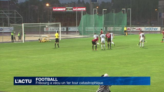 Football : Fribourg a vécu un 1er tour catastrophique