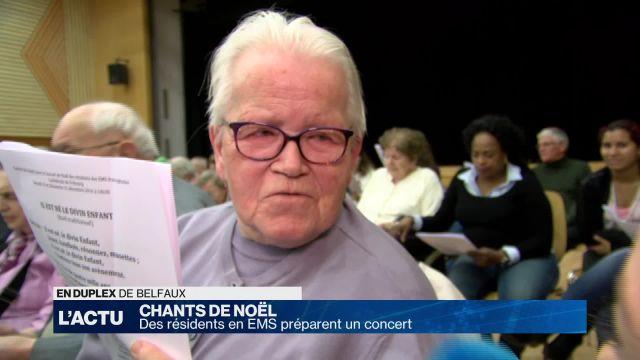 Des résidents en EMS préparent un concert de Noël à Fribourg