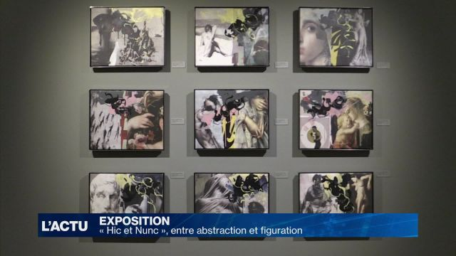 « Hic et Nunc », entre abstraction et figuration
