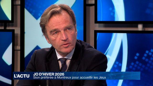 Sion préférée à Montreux pour accueillir les JO d'hiver 2026