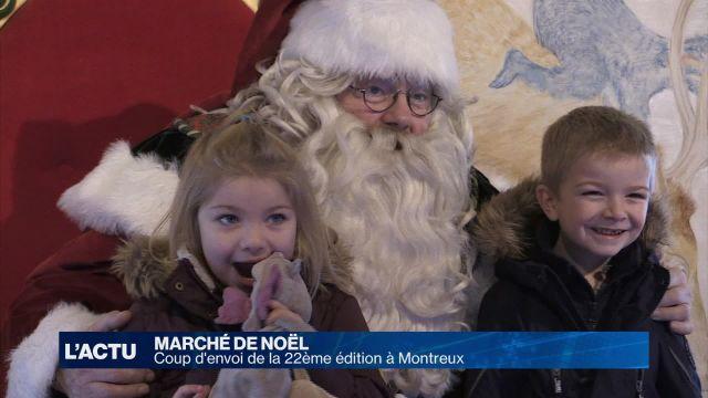 Coup d'envoi de la 22e édition de Montreux Noël