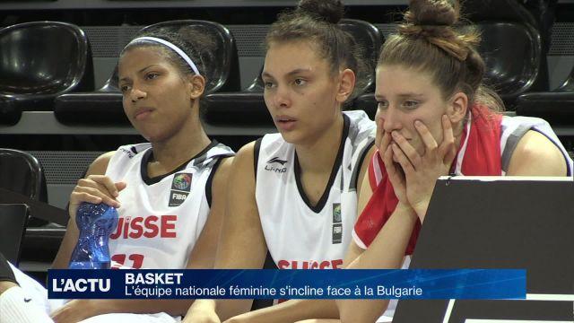 L'équipe nationale féminine s'incline face à la Bulgarie