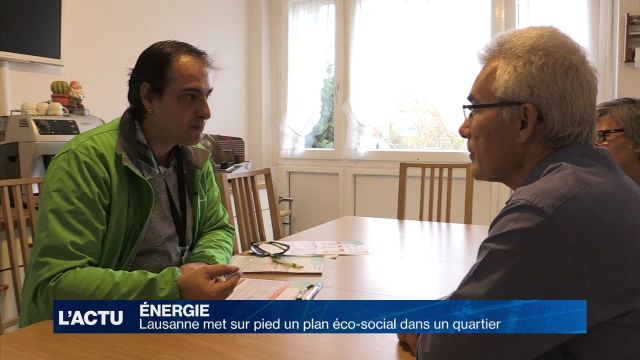 Lausanne met sur pied un plan éco-social dans un quartier
